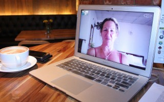 Connect with friends without having to worry about social distancing, using video chat.  (photo: )