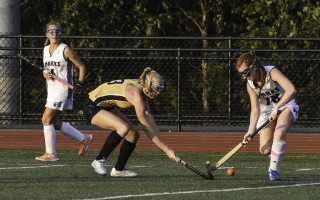 Monomoy field hockey captain Holly Evans has been recruited to play for the Bryn Mawr Owls at Bryn Mawr College in Pennsylvania this fall. File Photo  (photo: Kat Szmit)