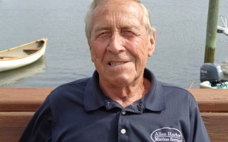 Bob LeBlanc at Allen Harbor Marine Service. COURTESY PHOTO  (photo: )