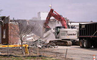 Crews from Robert B. Our company started the demolition last Thursday.  KAT SZMIT PHOTOS  (photo: )
