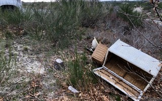 Dumping of trash in Cape Cod National Seashore is an emerging concern.  NATIONAL PARK SERVICE PHOTO  (photo: )