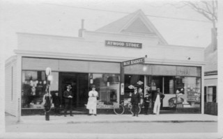Atwood Store in Chatham, 1920s. COURTESY OF WAYNE GOULD  (photo: )