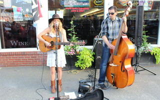 Monica Rizzio performs at Port Summer Nights. The chamber of commerce has canceled the popular event for this summer to protect the health and safety of bands, residents and visitors. FILE PHOTO  (photo: )