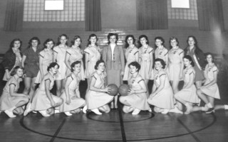 Girl's basketball team '53-'54, Chatham High School. PHOTO COURTESY OF WAYNE GOULD  (photo: )