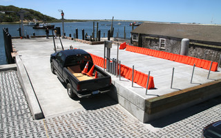 The new trap dock at Old Mill Boat Yard. ALAN POLLOCK PHOTO  (photo: Alan Pollock)