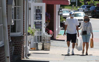 Selectmen have rejected any changes to downtown Chatham parking or traffic flow to accommodate social distancing. FILE PHOTO  (photo: )