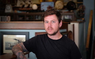 Cape native Sean Shea wants to open Goody's Tattoo on Main Street in Orleans. 