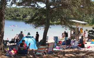 Depending on the weather, Schoolhouse Pond Beach can be overcrowded, as it was on July 2 when this photo was taken. FILE PHOTO  (photo: )