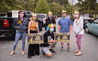 The Class of 2020 at Nauset Regional High School was dealt a blow this week when their July 28 graduation ceremony was canceled due to increasing COVID-19 cases in the region. Kat Szmit Photo  (photo: )