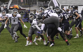Football takes a hit due to the COVID-19 pandemic and, should area schools adopt a recommended new schedule, will take place in the spring instead of this fall.  FILE PHOTO  (photo: Kat Szmit)