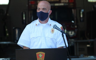 Fire Chief David LeBlanc.  (photo: )