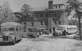 During WWII, today's Chatham Marconi STEM Education Center served as housing, offices, and workshop space for naval personnel.  (photo: )