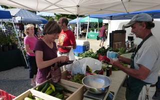 Farmers markets provide a key source of local, affordable food.  FILE PHOTO  (photo: )
