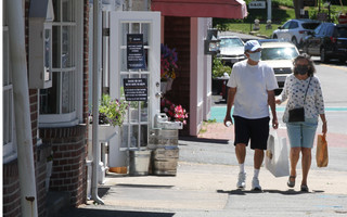 Shoppers stroll downtown Chatham this summer. FILE PHOTO  (photo: Alan Pollock)