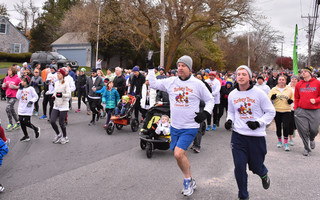 The 2020 Chatham Turkey Trot is still happening but in a new way to accommodate pandemic protocol. Rather than an in-person event on Thanksgiving Day, as is tradition, the event will be DIY between the week of Nov. 21 and 29. File Photo  (photo: Kat Szmit)