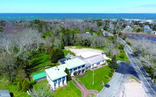 An aerial view of the Captain Linnell House. COURTESY PHOTO  (photo: )