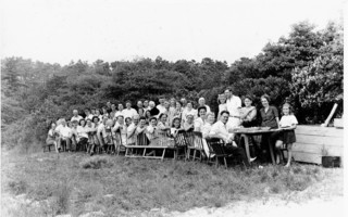 A gathering at Hawksnest,1940. PHOTO COURTESY OF KAITLIN LAPHAM  (photo: )
