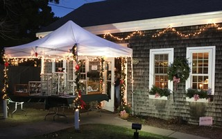 "Forest Beach Design set up Cape Cod's Only ""Art Jeweler Under The Big Top"" in response to the pandemic. COURTESY PHOTO  (photo: )"