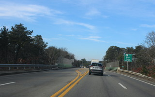 "The Route 137 bridge may soon serve more than the movement of vehicles over Route 6. A student initiative seeks to name the bridge ""Hidden Wounds Memorial Bridge"" drawing attention to soldiers suffering from related injuries such as PTSD. WILLIAM F. GALVIN PHOTO  (photo: )"