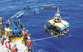 Remotely Operated Vehicle (ROV) Jason, designed, built, and operated by the Woods Hole Oceanographic Institution for exploring the ocean depths. COURTESY PHOTO  (photo: )
