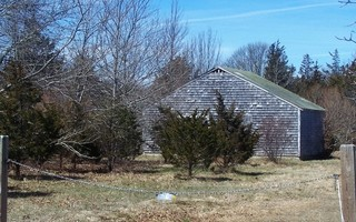 Off-plot storage is an issue for growers at Putnam Farm. This barn, seen in 2018, is no longer standing. CHRONICLE FILE PHOTO  (photo: Ed Maroney)