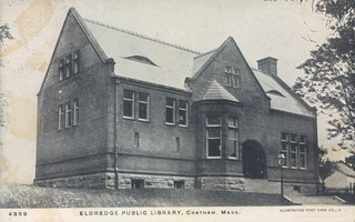 A postcard shows the Eldredge Public Library shortly after it opened in 1896. COURTESY OF THE ELDREDGE PUBLIC LIBRARY  (photo: )