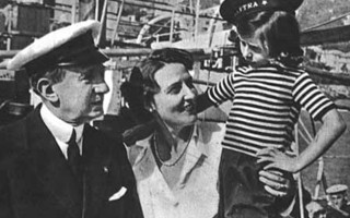 Guglielmo Marconi with wife Maria Marconi and daughter Princess Elettra Marconi. FILE PHOTO  (photo: )