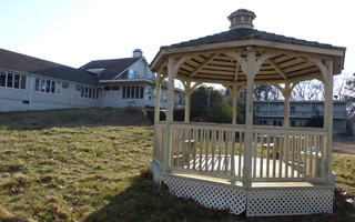 A common area at the Governor Prence Inn is graced by a gazebo. CHRONICLE FILE PHOTO  (photo: )