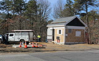 Work continues on the East Harwich sewer installation projects. Workmen were busy this week at the pump station along the west side of Route 137. WILLIAM F. GALVIN PHOTO  (photo: )
