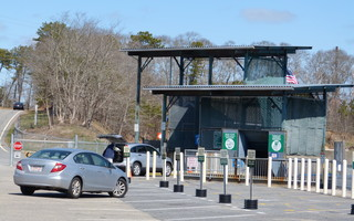 The town transfer station will be operated as an enterprise fund if town meeting agrees May 22. CHRONICLE FILE PHOTO  (photo: )