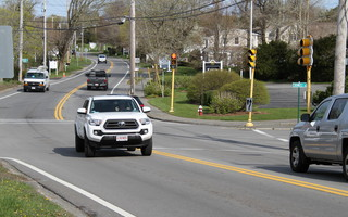 Cars pass through the complex intersection at Crowell Road, Queen Anne Road and Route 28. ALAN POLLOCK PHOTO  (photo: )