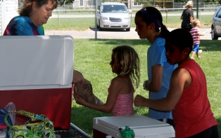 Not every child at the Chatham Summer Food Service Program site comes from a needy family. All kids are served, regardless of their family income, ensuring that needy kids are never stigmatized.  FILE PHOTO  (photo: Alan Pollock)