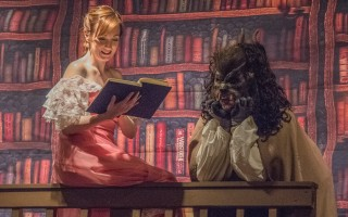 "Rebecca Banas and Todd Yates Gosselin in ""Disney's Beauty and the Beast"" at the Chatham Drama Guild. MICHAEL/SUZ KARCHMER PHOTO  (photo: )"