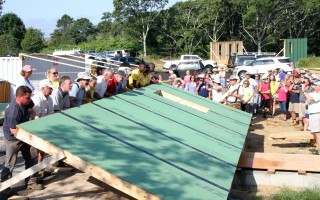 A Habitat for Humanity build in West Chatham.  FILE PHOTO  (photo: Alan Pollock)