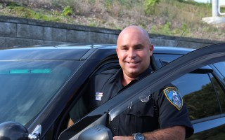 Harwich Police Officer Peter Petell is serving as the department's lead officer in addressing the opiate epidemic. COURTESY PHOTO 