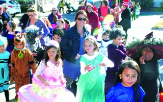"A scene from last year's Chatham Elementary School Halloween Parade. This year the parade will be folded into an after-school ""Halloween Happenings"" event on Friday, Oct. 28. FILE PHOTO  (photo: )"