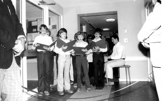 Music Teacher Nat Wordell's Youth Choir, 1979. FILE PHOTO  (photo: )
