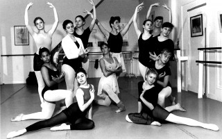 Rehearsal for the Academy of Performing Arts production of Hansel and Gretel are  the  Angels (clockwise  from  top  left)  Erika  Klouman, Dierdre Tower, Sarah Toland, Victoria Grinder, Elizabeth Pinault, Melanie Fleming, Teresa Rosa, Kathryn Traut, Kim Cronin, Laura Pierce, Gretchen Strong and Ramona Peterson. 1991. FILE PHOTO    (photo: )