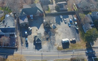 An aerial view of the Eldredge Garage property, which voters at the Jan. 23 special town meeting will be asked to purchase for $2.5 million. CHRISTOPHER SEUFERT PHOTO  (photo: )