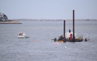 The Barnstable County dredge Codfish.  FILE PHOTO  (photo: Tim Wood)