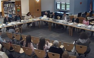 The Monomoy School Committee last week voted against sending a letter of apology to high school department heads. MRSD VIDEO SCREENSHOT  (photo: )