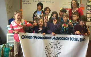 "OPAK held a ""Plankton and Plastics"" program at the Orleans-based Partnership School of Cape Cod last year. COURTESY PHOTO  (photo: Courtesy OPAK)"