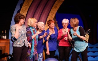"A scene from ""Wrinkles, The Musical."" From left, Sherrie Scudder, Deborah Stringham, Sue Lindholm, Joanne Callum Powers, Karen Santos and Sue Lindholm. NICOLE GOWAN PHOTOGRAPHY  (photo: )"