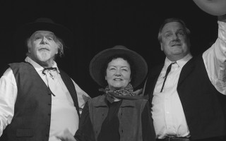 "Allan Brooks, Kathy and Scott Hamilton perform ""Oklahoma!"" in   ""    Rodgers and Hammerstein in Chatham.""   