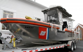 The new shallow-draft rescue boat is still being outfitted and tested, and should be operational by July 4. ALAN POLLOCK PHOTO  (photo: Alan Pollock)