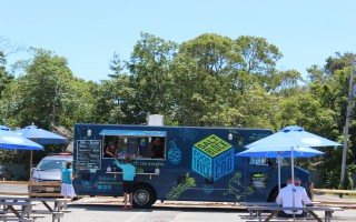 The Salt Block Food Truck has relocated to the center of Harwich Port where it will operate throughout the summer. WILLIAM F. GALVIN PHOTO    (photo: William F. Galvin)