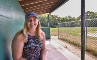 Monomoy softball pitcher Mollie Charest is spending her summer honing her skills not only to get better for high school play, but also in the hopes of bigger goals, including the 2020 Olympics. Kat Szmit Photo  (photo: )