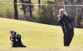 The Monomoy girls golf program got a big boost this summer when junior memberships for a number of players were donated by Kinlin Grover to two area courses. File Photo 
