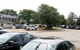 The Eldredge Garage property is currently in use as a private parking lot. ALAN POLLOCK PHOTO  (photo: Alan Pollock)