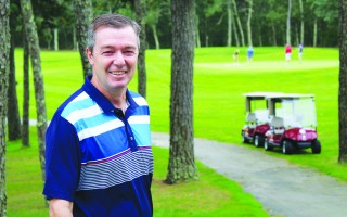 Cranberry Valley Golf Course Director Roman Greer is seeking to keep the customers happy. WILLIAM F. GALVIN PHOTO  (photo: William F. Galvin)